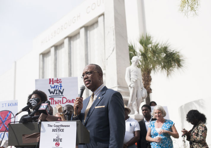 Majority of Hillsborough Commissioners Now Support Moving Tampa's Confederate Statue